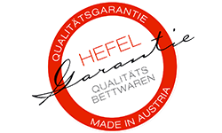 HEFEL Qualititätsgarantie